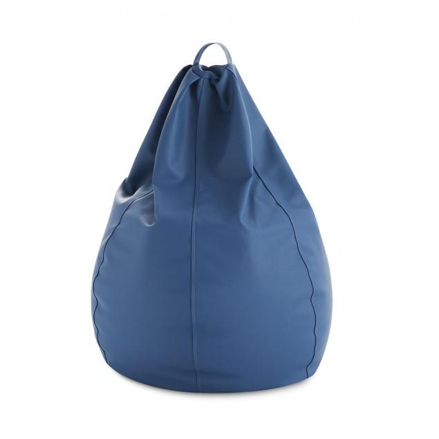 Puff Pera XXL Azul